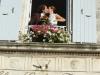 Mairie et mariés