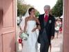 Entré de la mariée et de son père